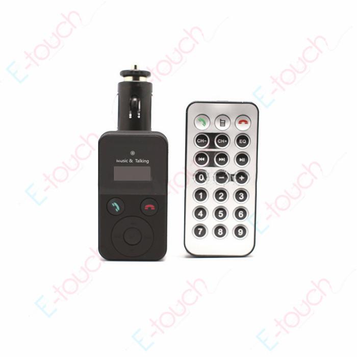 "Portable1.5"" LCD Handsfree Bluetooth Car Kit MP3 Player FM Transmitter Modulator USB/SD/MMC/TF Support, ET662(China (Mainland))"