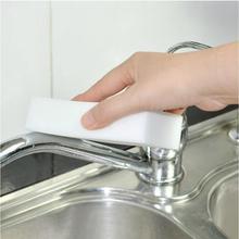 10 pcs/lot White Magic Sponge Eraser Melamine Cleaner,multi-functional Cleaning 100x60x20mm Wholesale Retial ZH209 (China (Mainland))