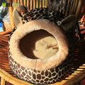 Umiwe Soft Cat Pet Bed For Dog Deer Shape Cotton Cozy Puppy Kitten Pet Dog Bed
