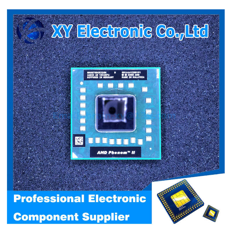 XIN YANG Electronic Original Processor N870 HMN870DCR32GM Laptop CPU Socket S1 (S1g4) 2.3GHZ 638-pin Free Shipping(China (Mainland))