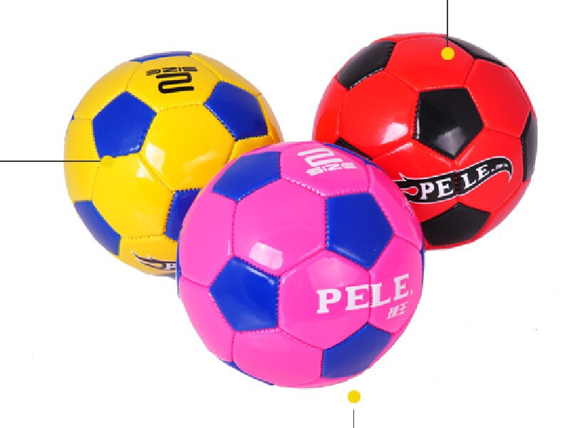 Free Shipping Baby's Gift Toys! Children's Soccer Ball Orange Soccer Ball Size 2 Babies and Kids Football Ball(China (Mainland))