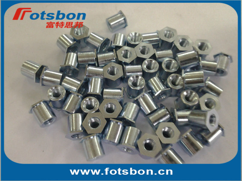TSOS-632-125 Threaded standoffs for sheets thin as 0.25/ 0.63mm,PEM standard,stainless steel 303,<br><br>Aliexpress