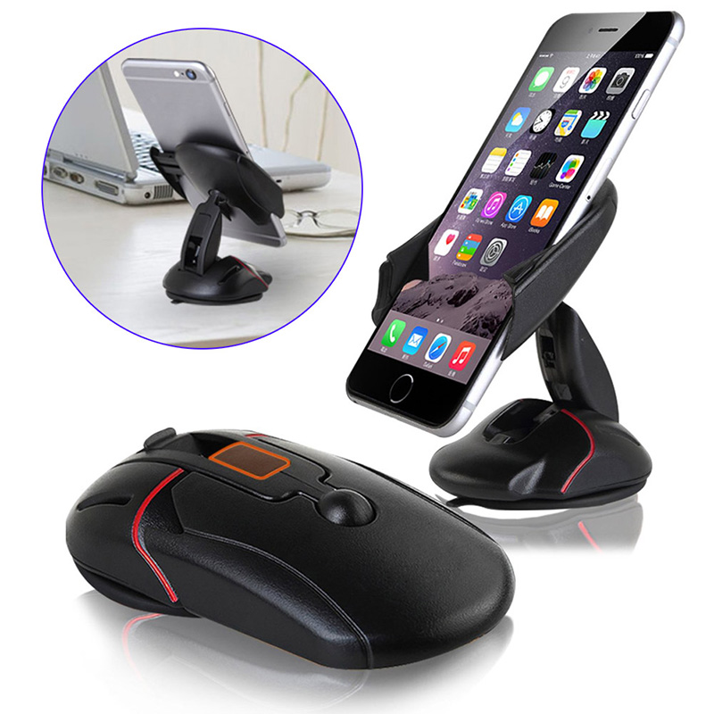 Compact One Touch System Car Mount Phone Holder Cradle For iPhone 6 / 6S Plus / Samsung Galaxy S6(China (Mainland))