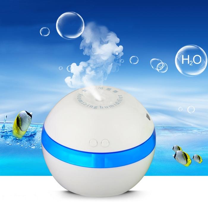 Mini Portable Practical USB Ultrasonic Humidifier Diffuser Moist Air Purifier Mist Maker For Home Office  Environment friendly