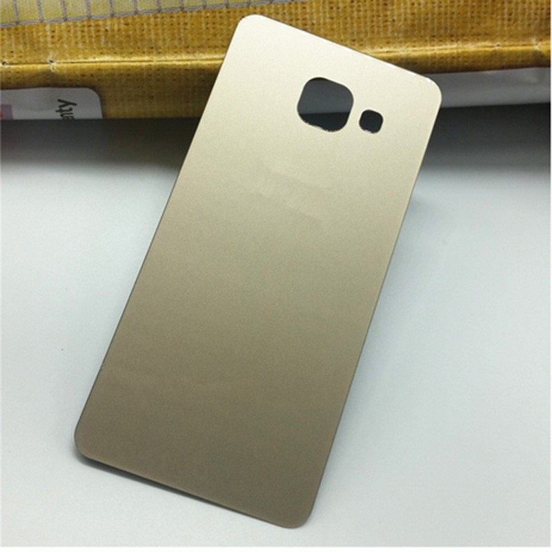1Pcs Glass Back Shell Housing Door Battery Cover Case & Adhensive For Samsung Galaxy A3100 A5100 A7100 A9000 Series Mobile Phone