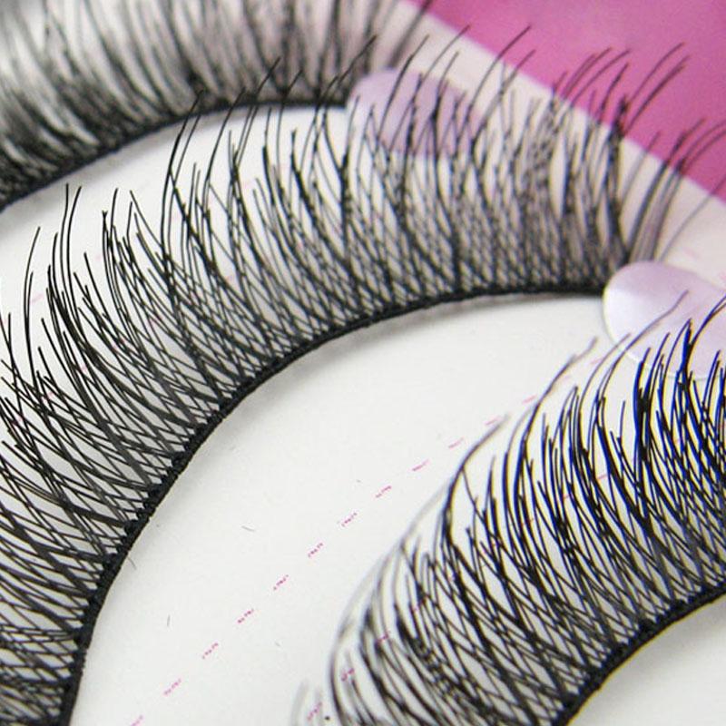 Beauty New 100Pair Cilios Posticos Long Eyelashes Extension Maquiagem Cosmetic Fake Eyelashes Eye Lashes(China (Mainland))