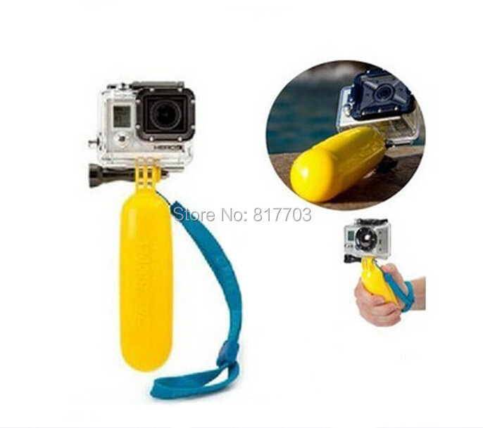 High quality Gopro Accessories,Diving Self Arm Pole Camera Handle Mount Buoyancy for GoPro Hero HD 2 3 Camera Drop shipping(China (Mainland))