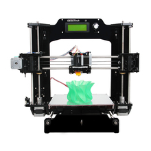Geeetech Prusa I3 X 3D Printer Diy Acrylic Frame High Precision Impressora Kit 1Kg Filament LCD Screen