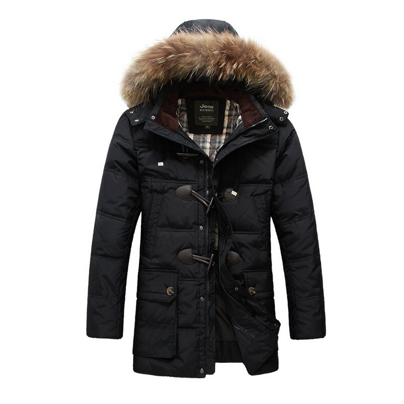 2015 New Brand Men's Winter Warm Coat thicken Men Nagymaros collar Hooded Parka Man Duck Jacket S-XXL
