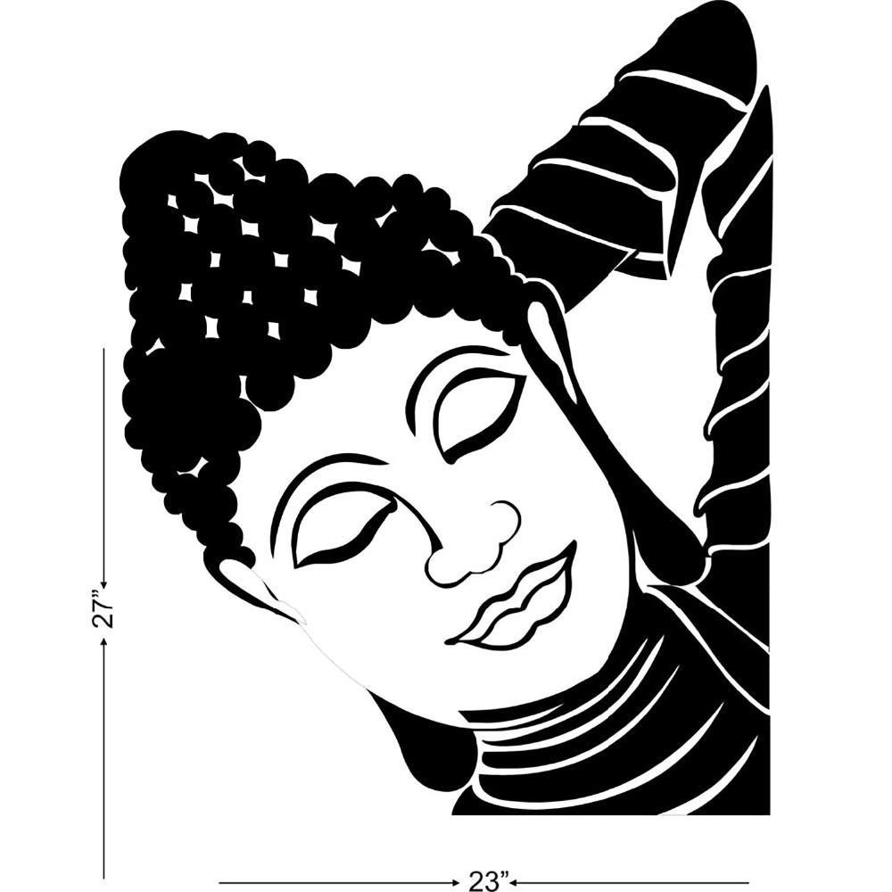 Wall Art Stickers Vector : New buddha ganesha vinyl wall decal studio briana sleeping