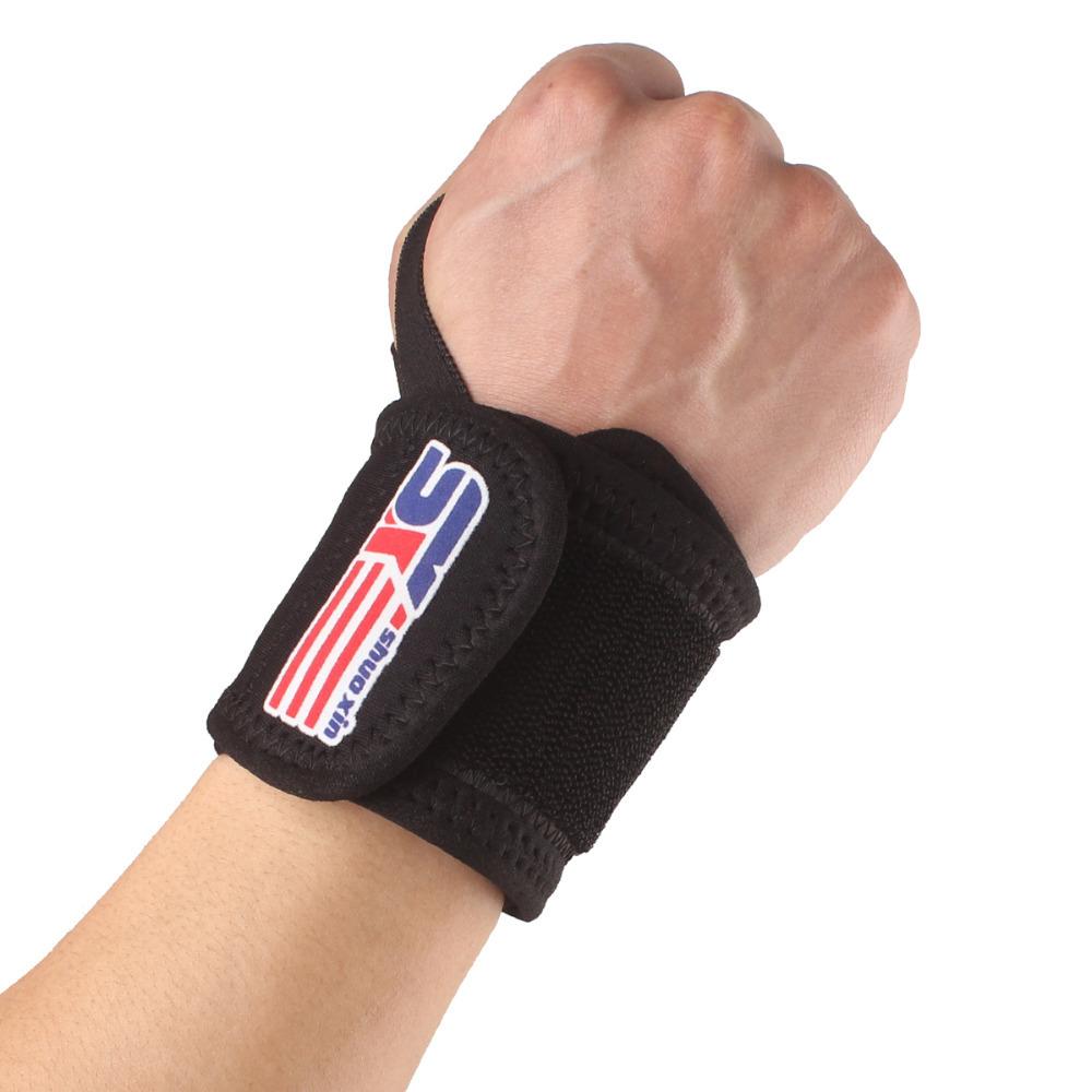 NEW Sports Wristband Tennis Wristband Wrist Support Weightlifting Wrist Volleyball Wristband Bracer Hot Sale(China (Mainland))