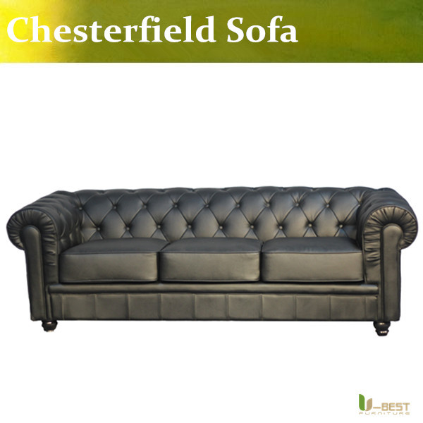 Classic Chesterfield Sofa,high quality chesterfield 3 seater sofa, leather sofa living room furniture<br><br>Aliexpress
