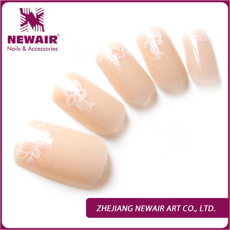 Wholesale 2015 Brand New False Nail Tips Abs Full Cover Short Fake ...