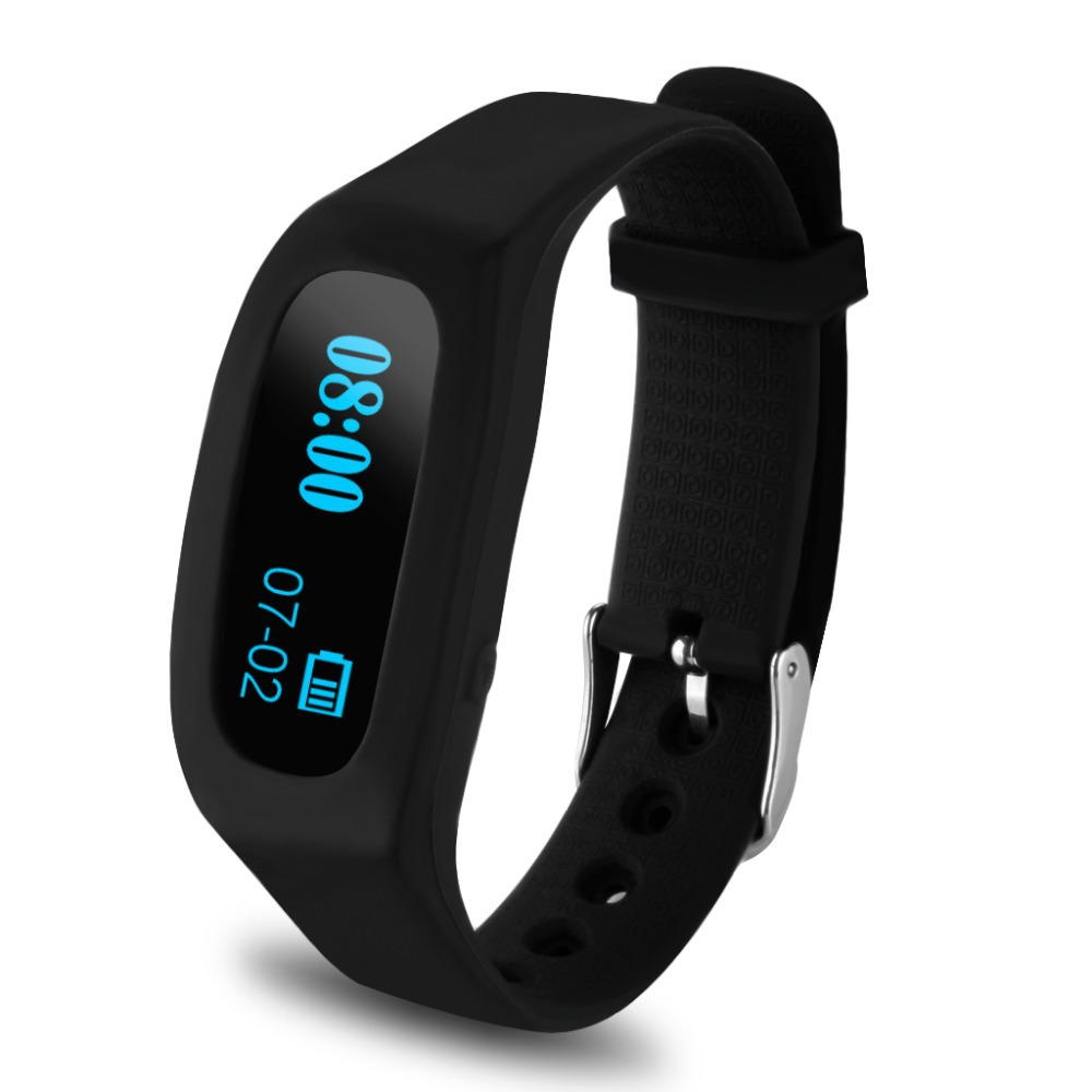 Excelvan OLED Smart Bracelet Bluetooth Sport Watch Pedometer Sleep Monitoring Calorie Counter Fitness Tracker For Android / IOS(China (Mainland))