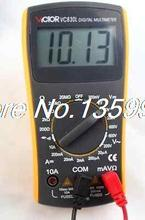 Измерение сопротивления инструмент вольт ампер ом цифровой мультиметр VC830L