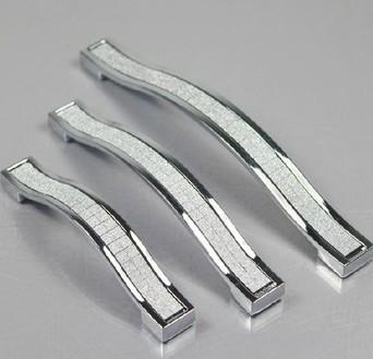 Kitchen Cabinet Hardware Suppliers 25Pcs Crystal Handles Kitchen Cabinet Knobs Zinc Alloy Drawer Pulls