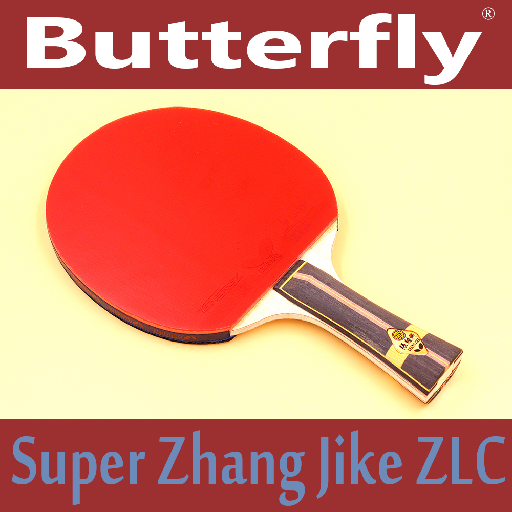 Butterfly SUPER Zhang Jike ZLC Brand Quality Table tennis racket Pimples-in rubber Ping Pong Racket(China (Mainland))