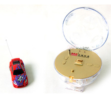 Cute And Mini Special Spherical Packing 8 Colors Remote Control Car 4CH RC Car The Best Electric Car RC Toy For Kids Model Car(China (Mainland))