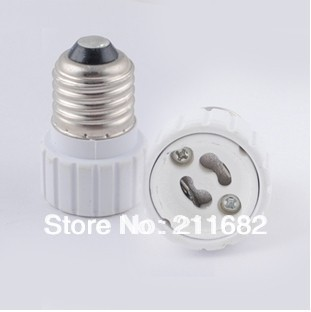 E27 to GU10 adapter High quality material fireproof material socket adapter(China (Mainland))