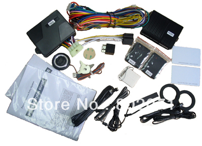 2013 lastest RFID passive keyless entry with Engine start stop button