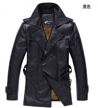 SEPTWOLVES New 2015 Autumn Winter Casual Jacket Men Second Layer Leather Man Jackets - 520JIA store