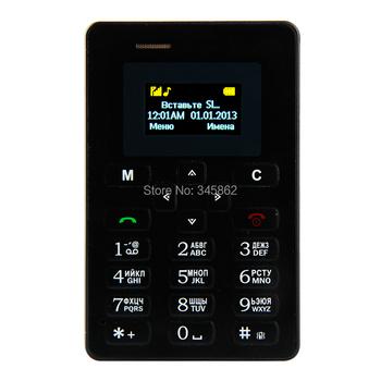 Мобильный телефон AIEK M5, русский клавиатура карта 4,5 мм ультратонкий вкладыш Mini телефон каче лента низкая анти-излучения AEKU M5 карта сотовый телефон
