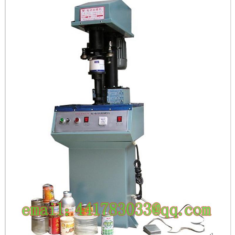 DGT41ASemi-automatic sealing machine tin cans Aluminum cap Plastic jar capper Potato chips capping - TINKA MACHINERY HOUSE store