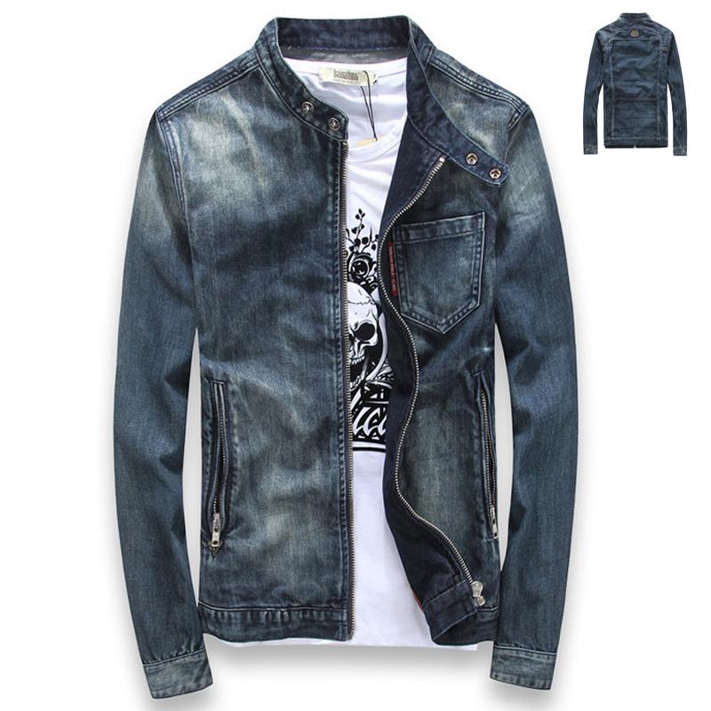 Popular Mandarin Collar Denim Jacket Buy Cheap Mandarin