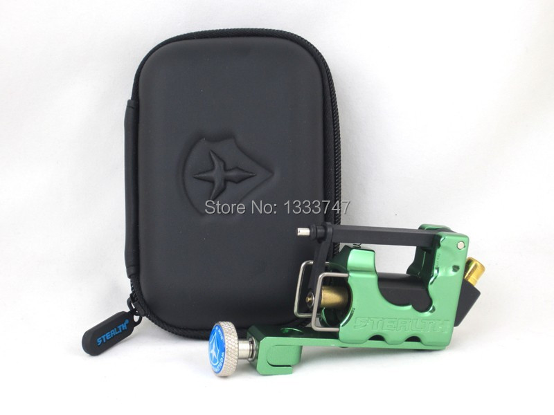 Tattoo Kit Original Stealth Gen2 Rotary Tattoo Machine Green Color Plus Clip Cord and Foot Pedal(China (Mainland))
