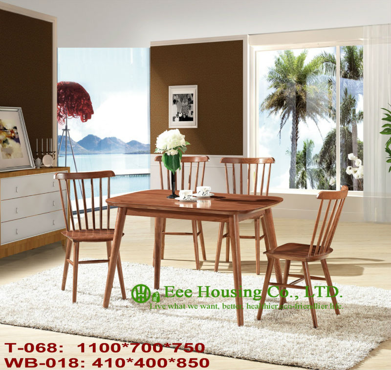 Здесь можно купить  T-068,WB-018 Solid wood table and chair, Solid Wood Home furniture Factory In China,Dining room furniture solid wood table&chair  Мебель