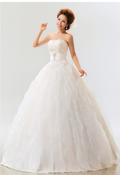 2013 spring and summer new arrival fashion sweet tube top white bride wedding dress