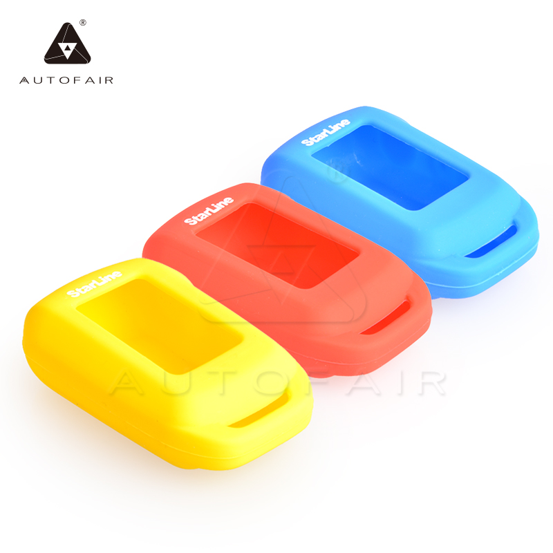 A92 LCD silicone case Russian version two way car alarm system Starline A92/A94/V62/A62/A64 - AUTOFAIR Flagship store