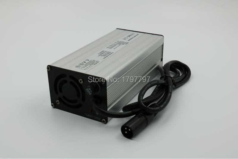 Lead acid 48 Volt 6 Amp XLR Battery Charger for SLA Battery(China (Mainland))