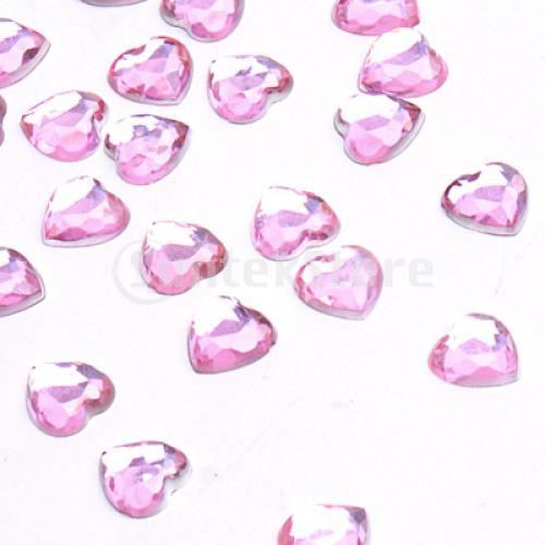 Free Shipping 500 Pcs 8mm Hearts Wedding Party Table Decoration Confetti Favor - Light Pink(China (Mainland))