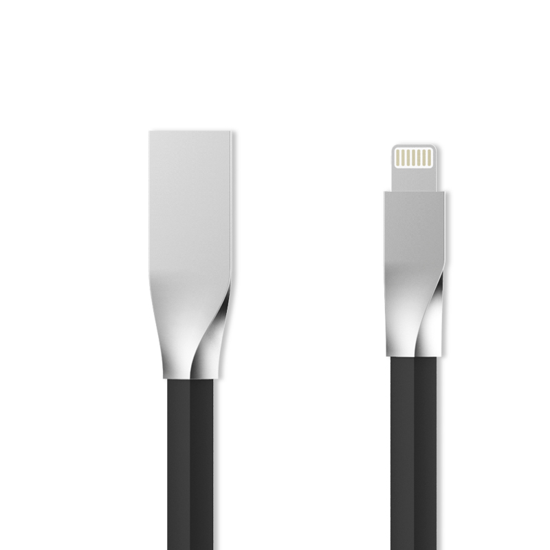 2016 New Zinc Alloy Joint for Apple Lightning Cable Fast Charging Data Sync USB Cable For iPhone 6s/6 Plus iPad Mini iPad Air(China (Mainland))