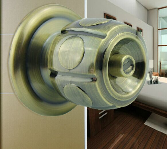 Interior wooden doors mechanical locks bedroom handle lock - Door handles with locks for bedrooms ...