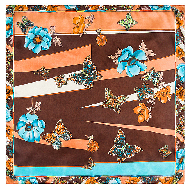Hot Selling Hip-Hop Bandanas Head Butterfly Flower Scarves For Male Female Unisex Multi Colour Headscarf High Quality(China (Mainland))