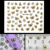 Hot Sale 3D Glitter Butterfly Nail Art Stickers Decals Nail Tips Decoration Manicure Kit free shipping