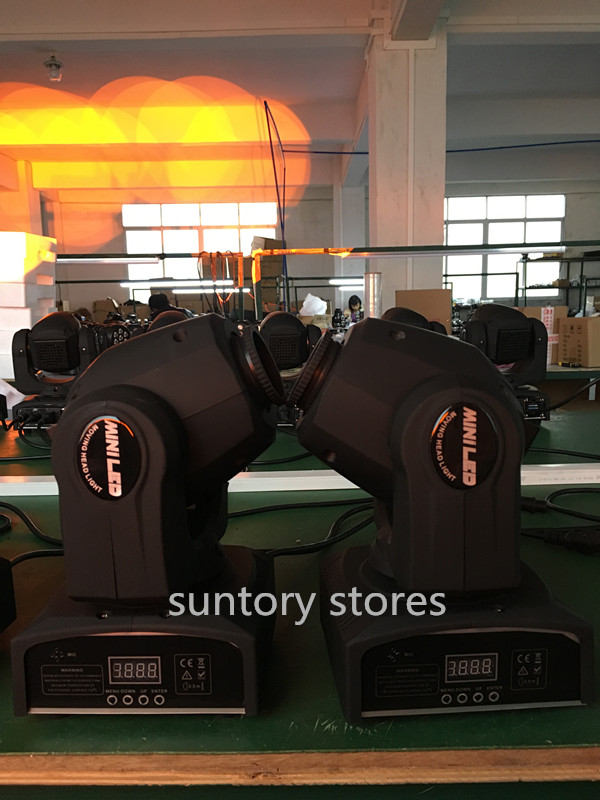 Free Shipping 30w led moving head light 9/11channels DMX512 moving head spot light 30w moving head spot DJ equipment(China (Mainland))