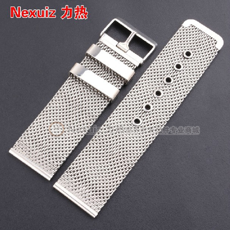 Nexuiz Watchbands , 18mm 20mm 22mm 24mm 26mm  Stainless Steel  Bracelet Strap Pin buckle department GARMIN FENI X2 Watch Band <br><br>Aliexpress