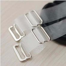 1.5cm Wide Bra Straps Transparent Frosted Women's Bra Straps Baldric Adjustable Intimates Accessories 1 Pair(China (Mainland))