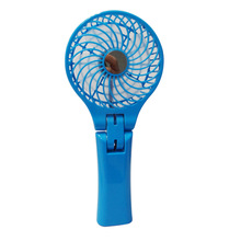 Hand Held Electric Air Cooler Rechargeable Portable Handle Folding USB Mini Fan With Battery Fan Outdoor