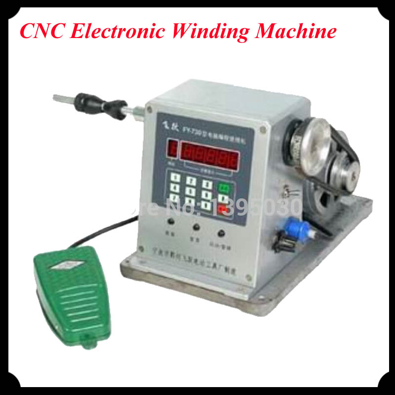 1pc CNC Electronic Winding Machine Coil Winder with Diameter 0.03 -1.80mm Coil Winding Machine FY-730(China (Mainland))
