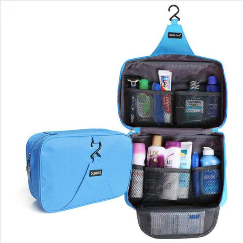Neceser Rushed bag New Nylon Multifunction Makeup Organizer bag Women Cosmetic bags Outdoor Travel Bag Handbag Bolsas(China (Mainland))