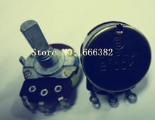 2PCS/ Guitar consoles potentiometer single joint RV24AF-10 B100K 20F(China (Mainland))