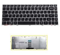 New original US Keyboard For Lenovo b40-30 g40-70 g40-30 n40-70 Flex2-14a Keyboard with silver frame