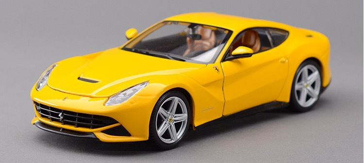 New High Quality Car Styling Brinquedos 1:24 Alloy Scale Car Model For F12 Berlinetta port Car Die Cast Model Best Display Toys(China (Mainland))