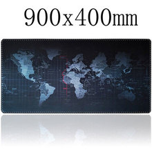Super large 900x400mm rubber mouse pad computer game tablet mouse pad with edge locking(China (Mainland))