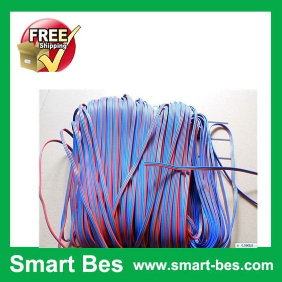 Free shipping by DHL /Fedex/EMS~Smart Bes!! 100m/lot;3pin cable for RGB color led strip&amp;module,20AWG,100m long Electrical Wires<br><br>Aliexpress