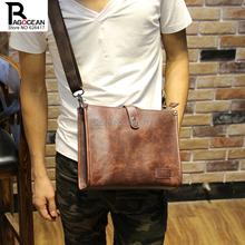 New Fashion Men Messenger Bags Sport leather Male Shoulder Bag Casual Outdoor Travel Hiking Military Messenger Bag business bag
